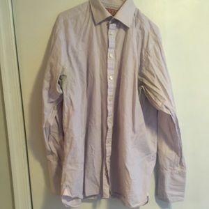 Thomas Pink Men's Shirt 16 1/2 -35